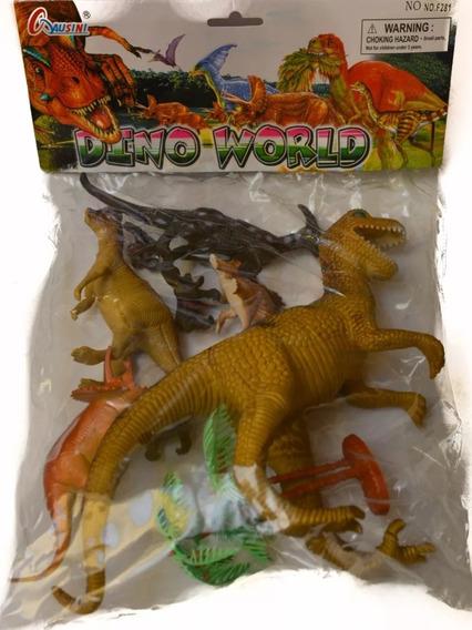 Kit Dinossauro De Borracha Dino Word
