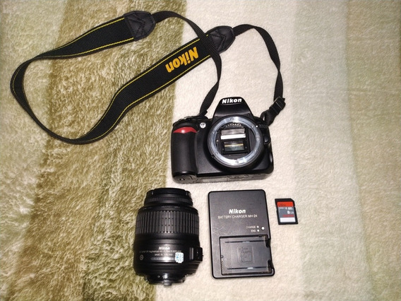 Câmera Fotográfica Dslr Nikon D3100