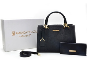 Bolsa Lorena Grande Amanda Brazil C/ Chaveiro