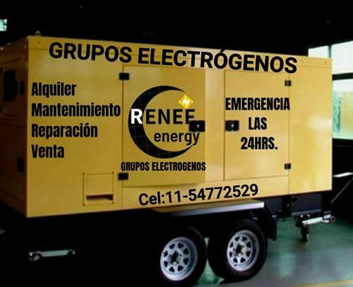 Imagen 1 de 5 de Alquiler Generadores Grupos Electrógenos Renef Energy