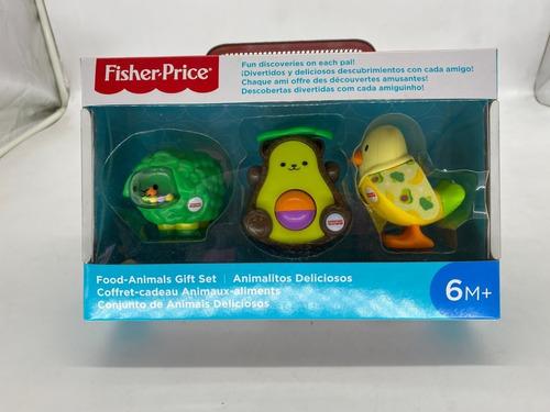 Imagen 1 de 5 de Sonajas Animalitos Deliciosos Fisher Price Bebes 6m+