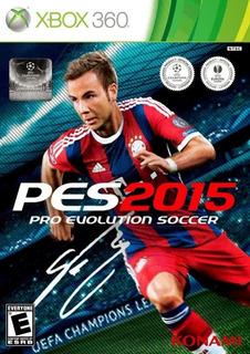 Juego Pes 2015 Xbox 360 Pro Evolution Soccer Nts Español