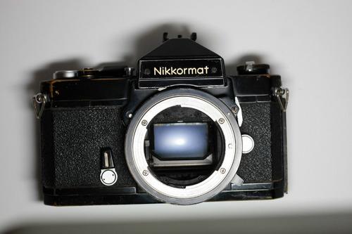 Câmera Fotográfica Nikon Nikkormat Ftn Analógica Filme