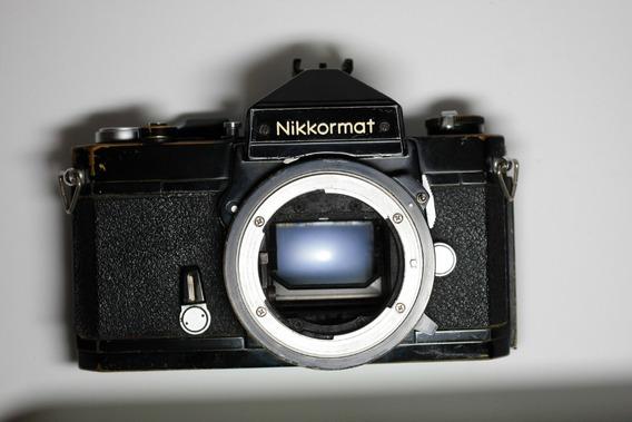 Câmera Fotográfica Nikon Nikkormat Ft2 Analógica Filme