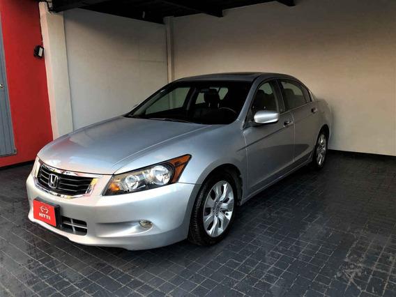 Honda Accord 2008 4p Ex Sedan V6 Piel Abs Q/c Cd