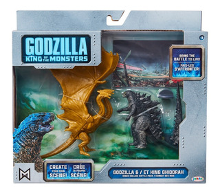 Godzilla King Of The Monsters And Et King Ghidorah - +envio
