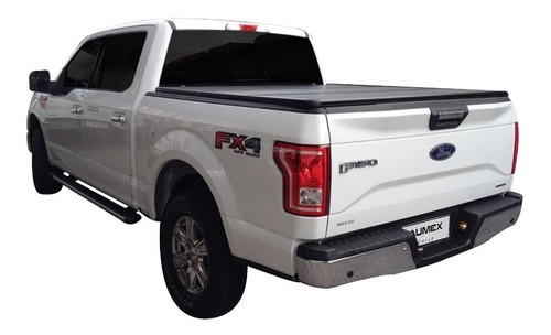 Tapa Plegable Rigida Ford F150 2015-2020 Doble Cabina Aumex