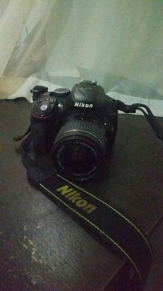 Câmera Nikon D5300 + Lente 18-55 Vrii [defeito]