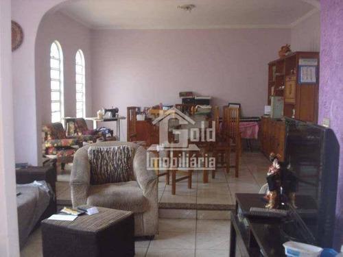 Casa Com 4 Dormitórios À Venda, 149 M² Por R$ 546.000,00 - Residencial E Comercial Palmares - Ribeirão Preto/sp - Ca1253