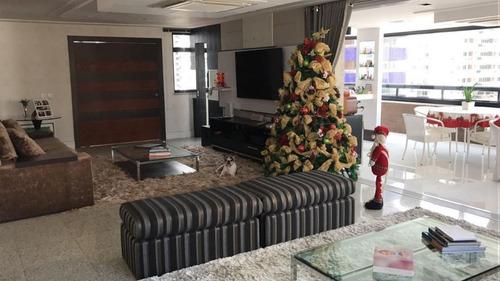 Apartamento Com 4 Suítes À Venda, 304 M² Por R$ 1.900.000 - Aldeota - Fortaleza/ce - Ap1880