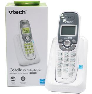 Telefono Inalambrico Para Casa Blanco Con Identificador Base Fija