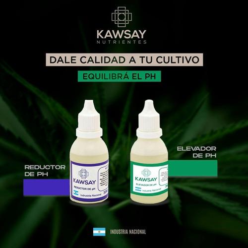 Regulador De Ph+ Y Ph- 60cc Kawsay Nutrientes