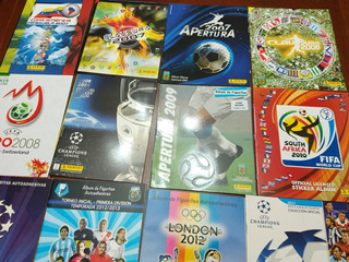Lote 12 Albumes De Futbol Vacios (016) Leer Descripcion