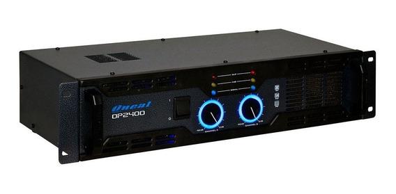 Amplificador De Potência Oneal Op 2400 2 Canais 400 Wrms