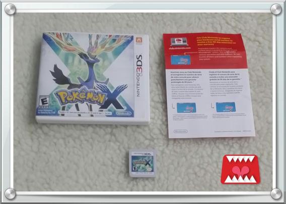 Jogo Pokémon X Nintendo 3ds Mídia Física