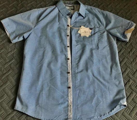 Camisa De Hombre Craft + Flow Nueva