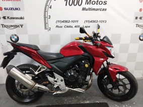 Honda Cb 500 F 2014 Otimo Estado Aceito Moto
