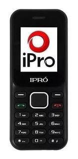 5 Celular Simples Tela 2.4 Ipro A8 Dual Chip Radio Atacado
