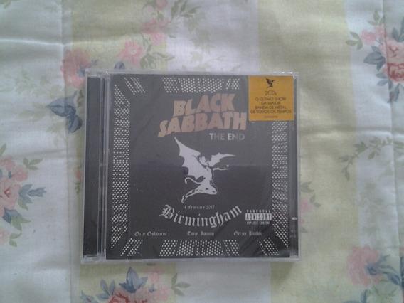 Black Sabbath - The End: Live In Birmingham (2 Cd Lacrado)