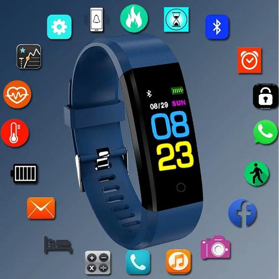 Relógio Bangwei Inteligente Smart Rastreador Fitness
