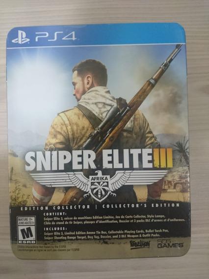 Sniper Elite 3 Ps4 Edição De Colecionador - Lacrado!