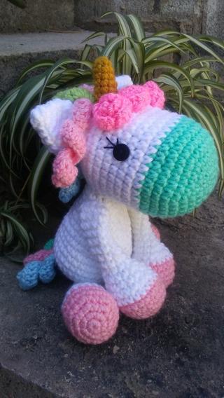 10 manualidades con unicornios muy (muy) coloridas | Amigurumi ... | 568x320