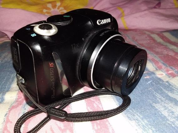 Câmera Canon Sx150is (semi-profissional/compacta)