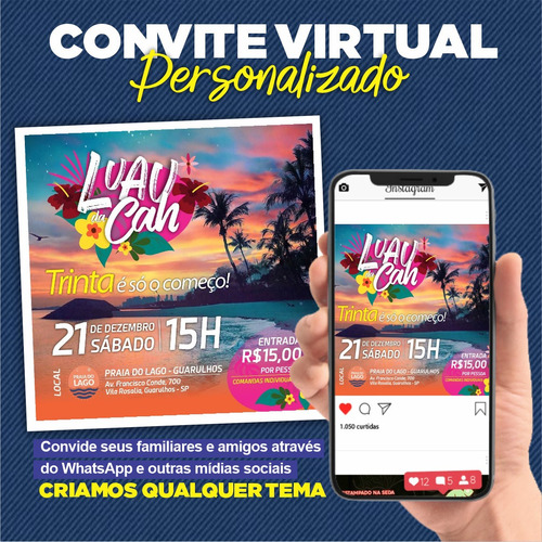 Convite Virtual Personalizado