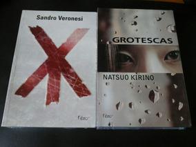Lote 2 Livros Novos - Grotescas - Xy