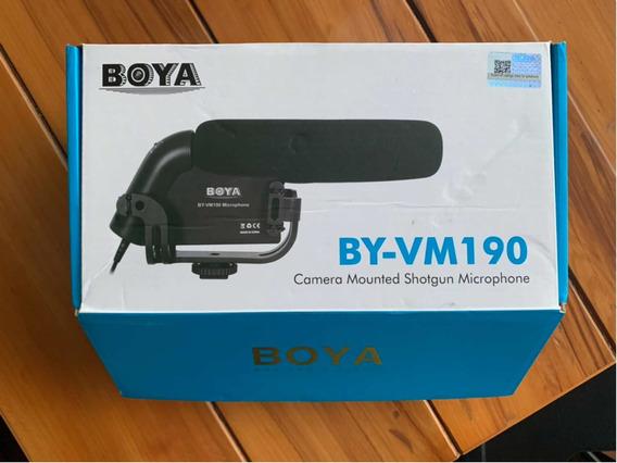Microfone Boom Boya Direcional Byvw190