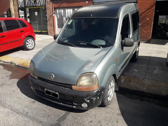 Renault Kangoo 2001 F Vidr 2 Filas Nafta 1.6 Titular $159000