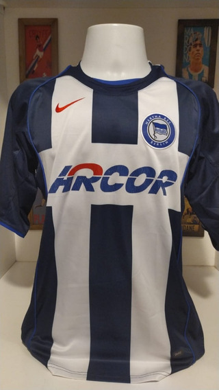 Camisa Futebol Hertha Berlim Gilberto Total 90