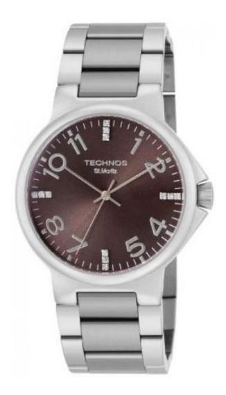 Relógio Technos St. Moritz Feminino 2036bn/1m
