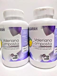 Valeriana Composta -passiflora Mulungo Melissa 2 Potes