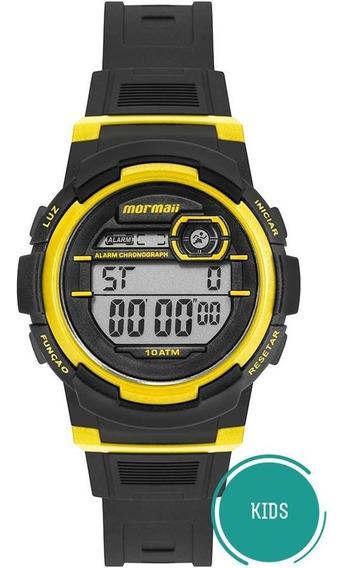 Relógio Mormaii Infantil Ref: Mo0201b/8y Digital Fun