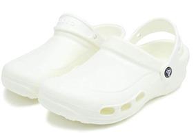 Crocs, Clogs / Suecos Unisex, Especialista Blanco
