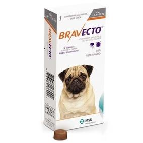 Bravecto Antipulgas E Carrapatos Caes De 4,5 A 10kg