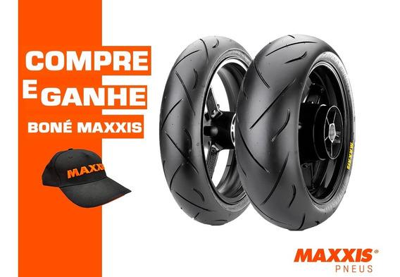 Par Pneu 120/70-17 + 190/55-17 Maxxis Presa Sport