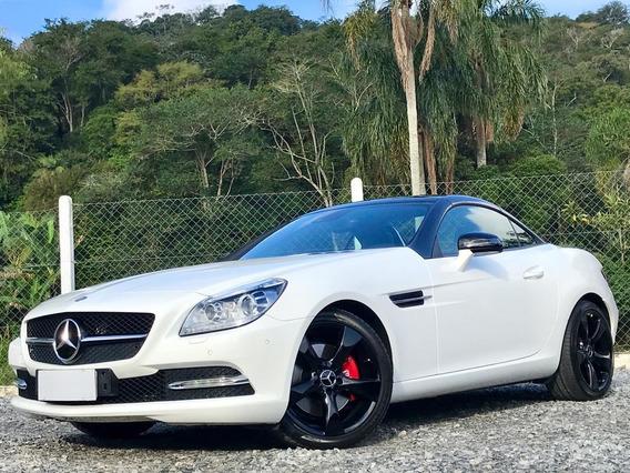 Mercedes-benz Classe Slk 250 Ano 2015 Branca 15.000km