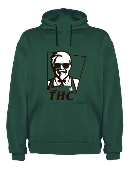 Sudadera Coronel Sanders Marihuana Thc Kfc Varios Colores