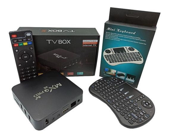 Conversor Smart Tv 4gb Ram 32gb Android + Teclado