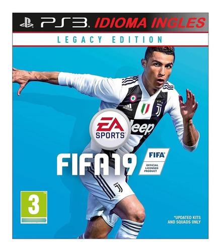 Imagen 1 de 4 de Fifa 2019 Digital Ps3 Neogamez
