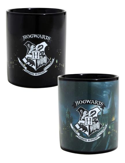 Taza Mágica Hogwarts Harry Potter Cambia Calor Termosensible