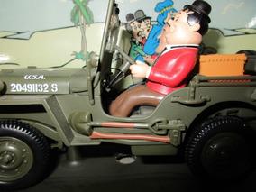 Jeep Willys Militar O Gordo E O Magro - Gate 1:18 Na Caixa