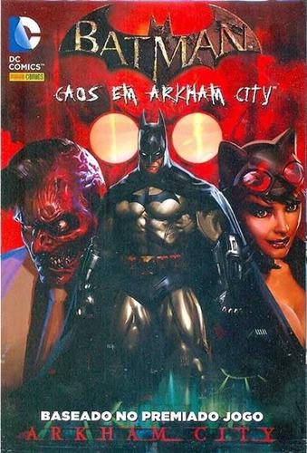 Batman Caos Em Arkham City 1 Dc Comics Panini 2013