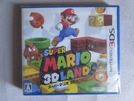 Super Mario 3d Land Japonês - Lacrado!