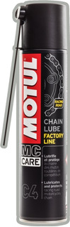 Lubricante Para Cadena Motocicleta Motul Chain Lube C4 400ml