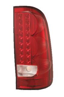 Lanterna Esportiva Led Toyota Hilux 2005 Até 2011 Vermelho