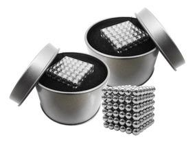 Juego 2 Cubos Magnetico 216 Bolitas De 5mm De Iman Envio Gra
