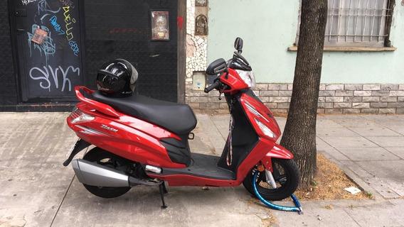 Scooter Hero Dash Origen India - Bordó - Año 2019